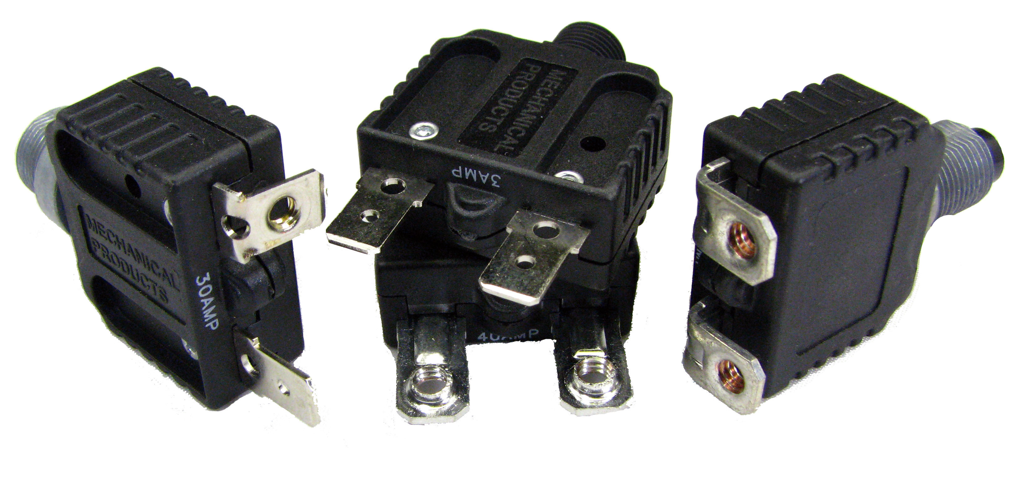 Mechanical Products Series 15 Push To Reset Circuit Breaker
