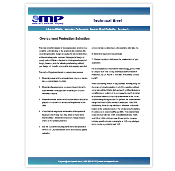Overcurrent-Protection-Selection